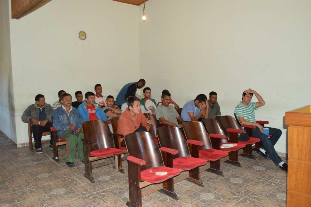 Visita Clinica de Recuperação 2014